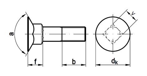 DIN 605 чертеж